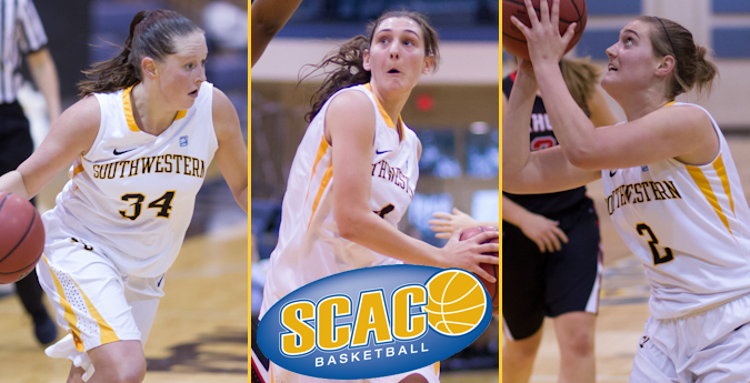 Women's basketball places three on All-SCAC teams