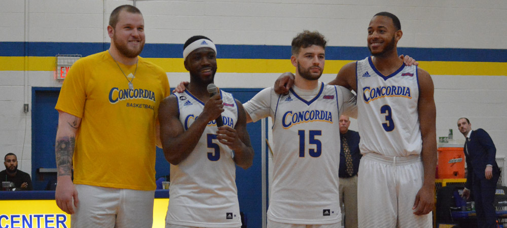 Men's Basketball Edged By Jefferson On Senior Day, 86-77