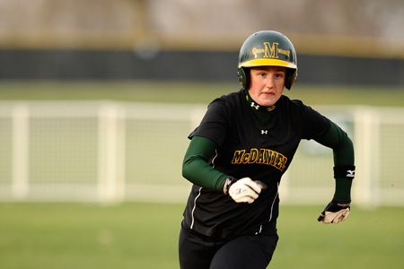 McDaniel splits with Stevenson