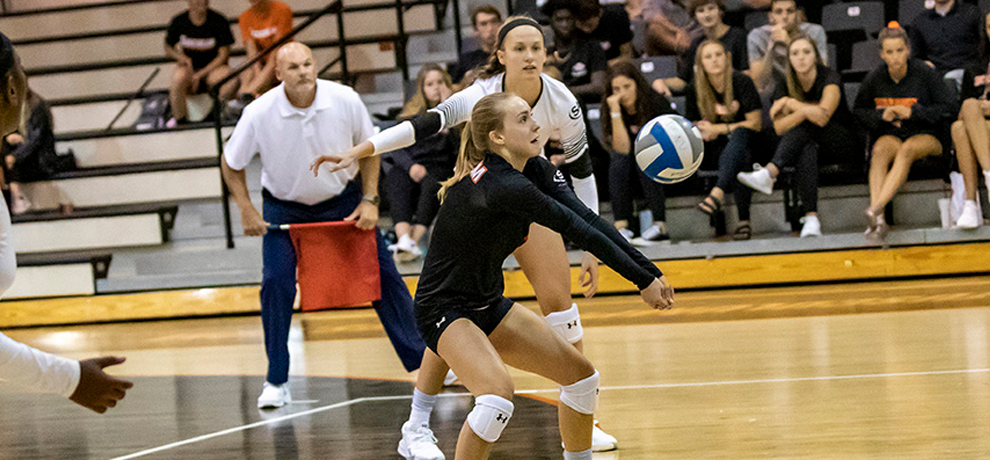 Bobcats Outlast TU in Five-Set Thriller