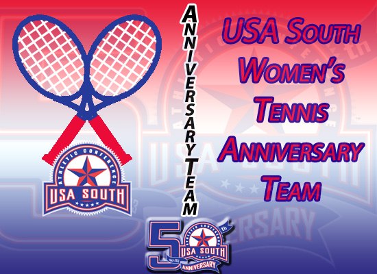 USA South Announces 50th Anniversary Women's Tennis Team