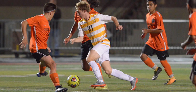 Freshman midfielder Bryce Posner (Photo by Caitlin Shoemaker)