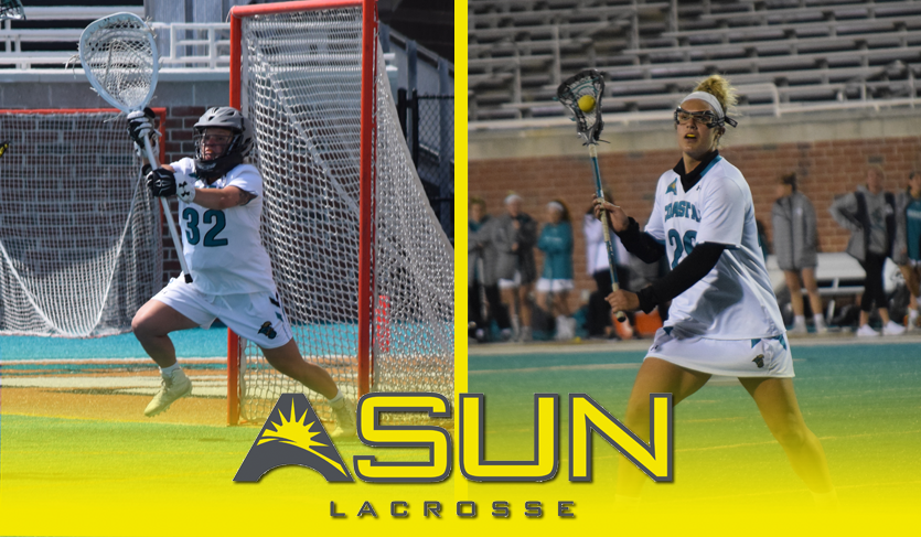 CCU's Kyger and Barrett Sweep @ASUNWLax Weekly Honors