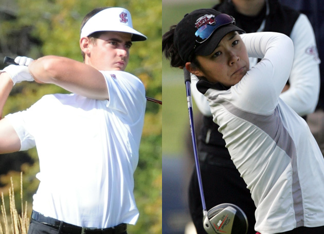 Santa Clara Golfers Lamb and Uekoa In Title Contention
