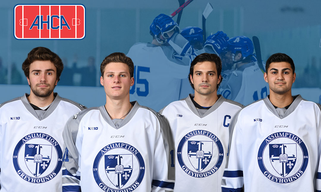 Four Men's Ice Hockey Student-Athletes Named Krampade/AHCA Academic All-Stars
