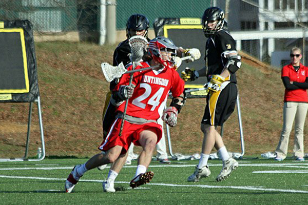 Huntingdon men's lacrosse comes up short against Division II Young Harris