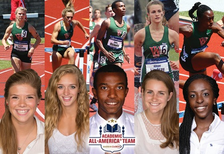 Five Bears Selected to CoSIDA Academic All-America Teams