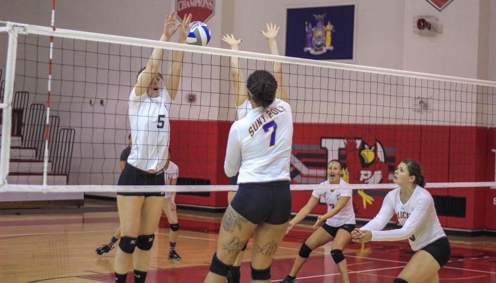 WVB: Wildcats Take Down Local Rival Utica College in Three Sets; 25-19, 25-20, 25-14.