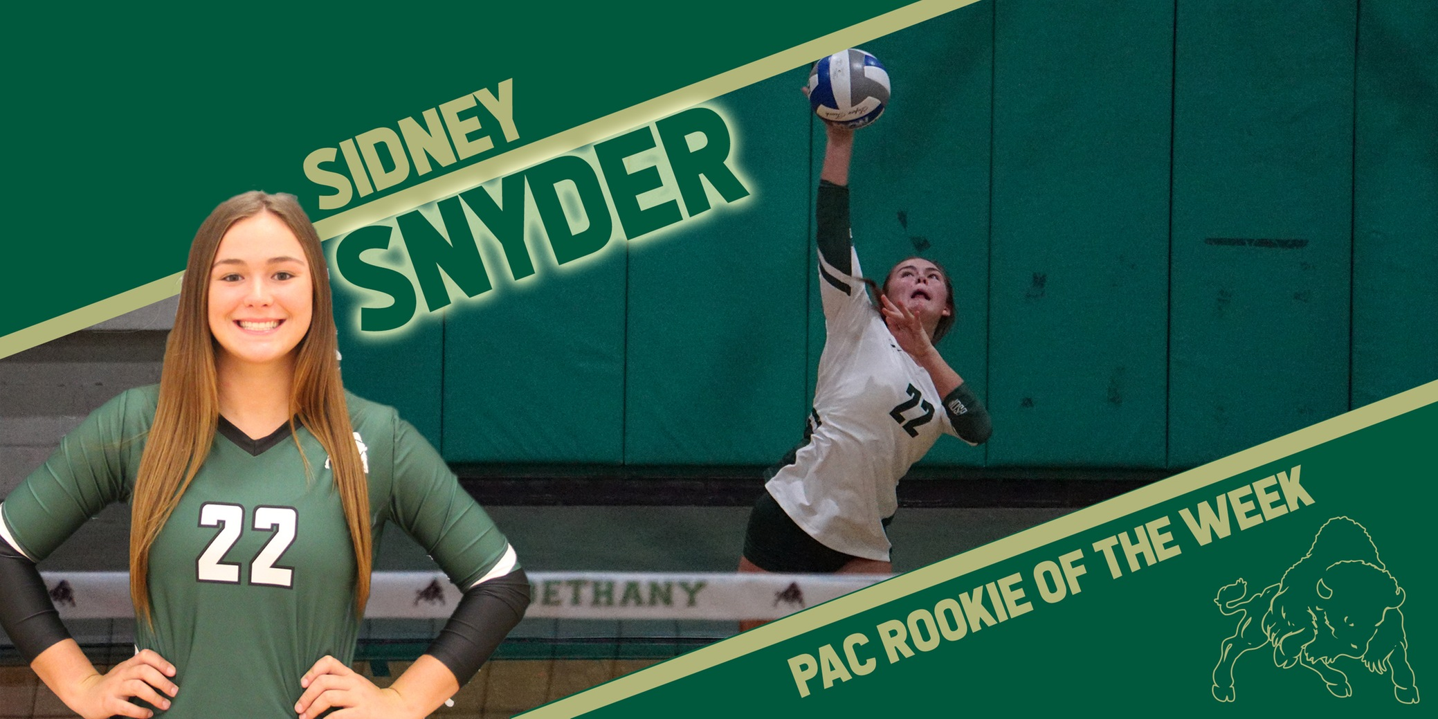 Snyder Earns PAC Rookie of the Week Honors