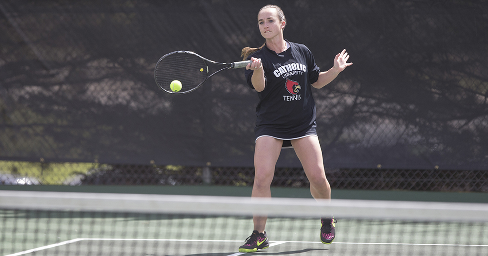 Women's Tennis Downs Susquehanna and Juniata