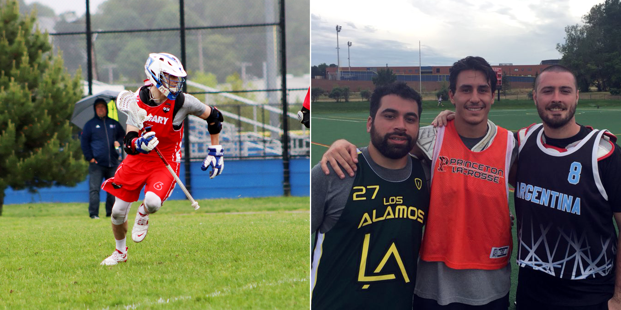 Lacrosse Alums Prep for Battle Overseas at FIL World Championships