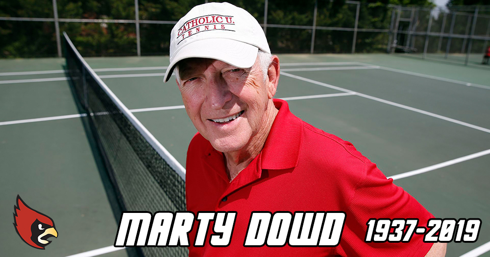Cardinal Athletics Mourns the Passing of Marty Dowd '60