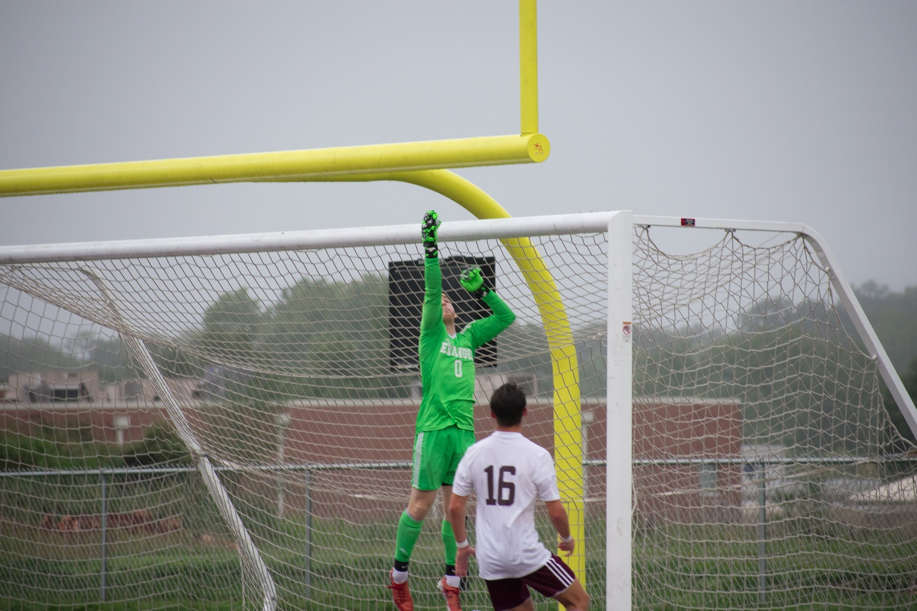 Evangel Drops Game at Lyon