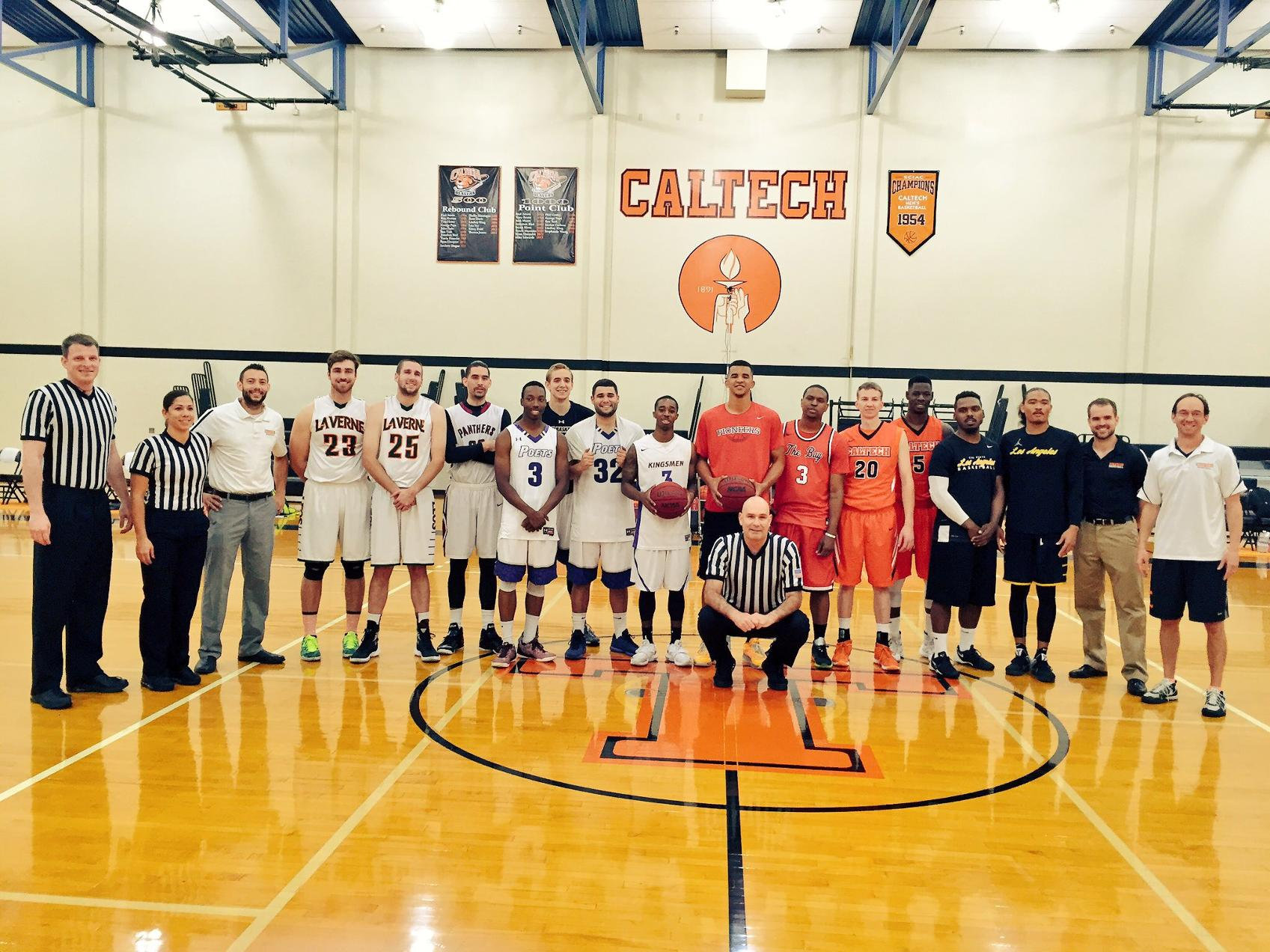 College All-Stars Put on Show at Caltech