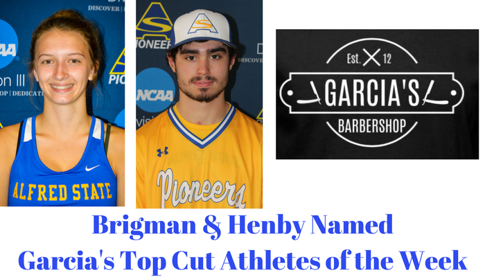 Garcia's Top Cup Athletes of the Week