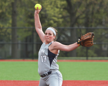 Bison rally past St. Elizabeth twice to sweep NEAC doubleheader