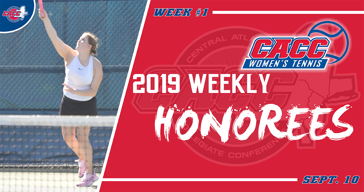 HIXSON AND FREDERICK EARN CACC WEEKLY ACCOLADES