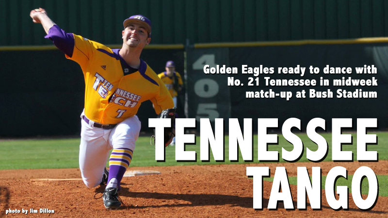 Golden Eagles to play host to No. 21 Tennessee in midweek match-up
