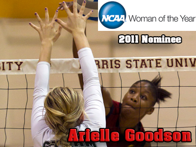 Arielle Goodson Nominated For NCAA Woman Of The Year Award