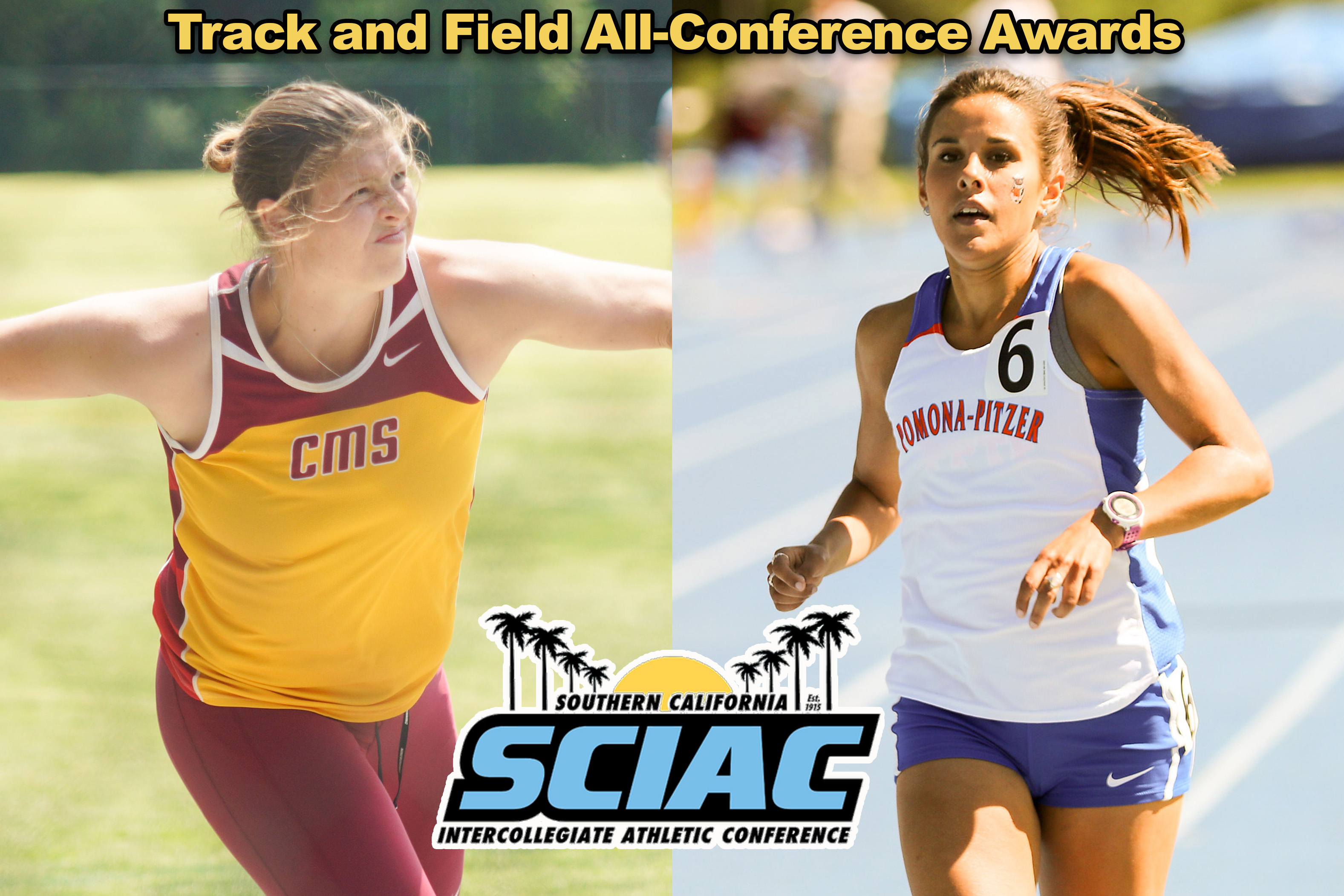 SCIAC All-Conference Women's Track and Field
