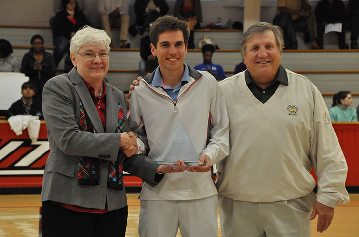 Golf: Former Panther Cory Howard presented USA South's Don Scalf Award