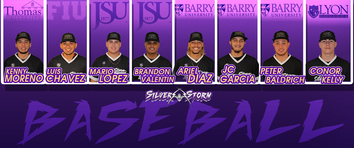 Eight Members of ASA Miami Baseball Sign with Four-Year Schools