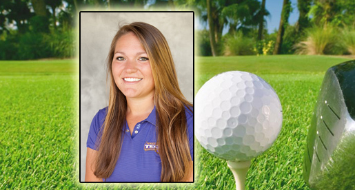 Junior Katherine Bell named MVP of women's golf squad