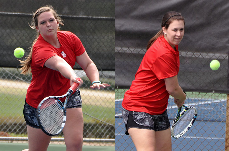 Women's Tennis: McDonald and Meigs receive team end of year awards