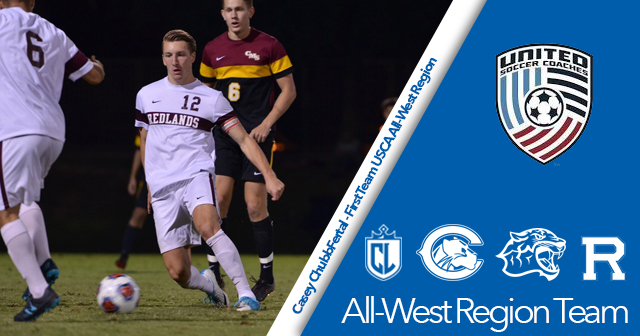 Nine SCIAC Men's Soccer Student-Athletes Garner USCA All-West Region Honors