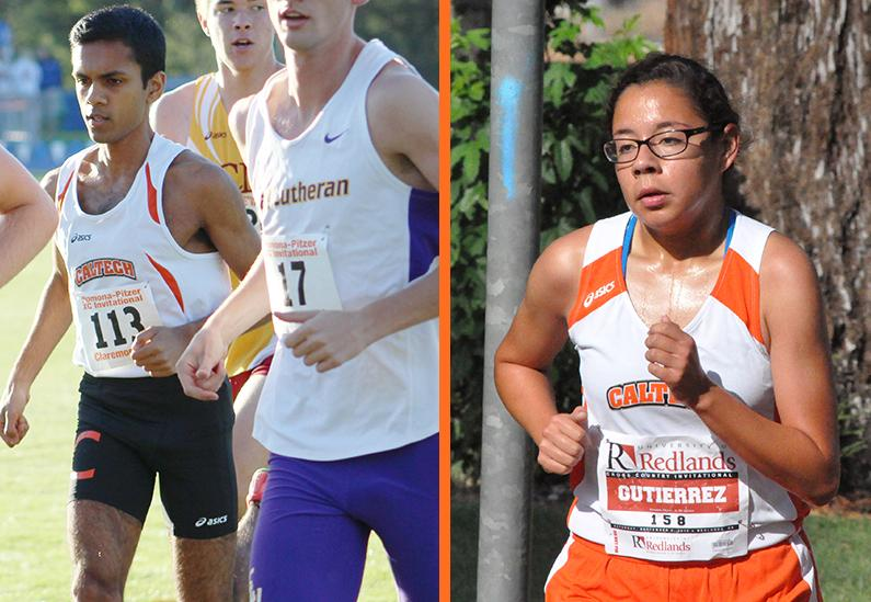 Gutierrez, Bhagavathi Pace Cross Country at SCIAC Multi-Duals