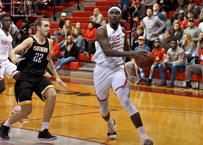 Brandon McLean had 18 points, nine rebounds, three assists and two blocks in Monday's win over Birmingham-Southern.
