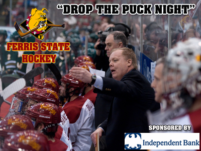 "Ferris State Hockey's ""Drop The Puck Night"" Set For  Oct. 1"