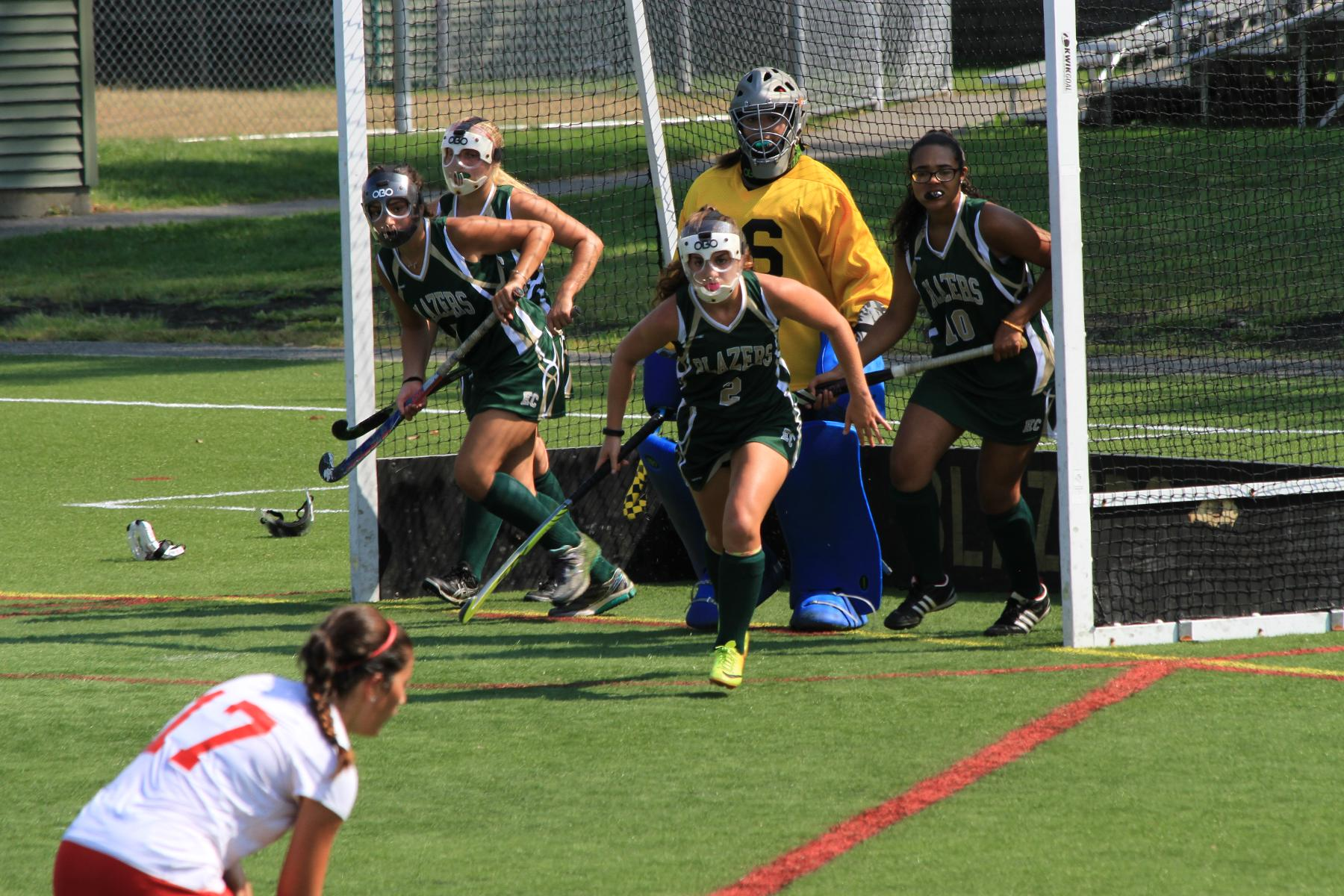 Field Hockey Stumbles Against Engineers at Home