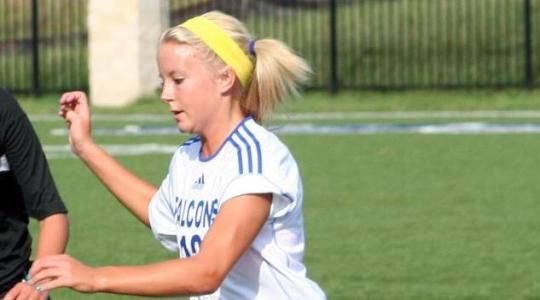 Falcon female booters host Marian Wednesday