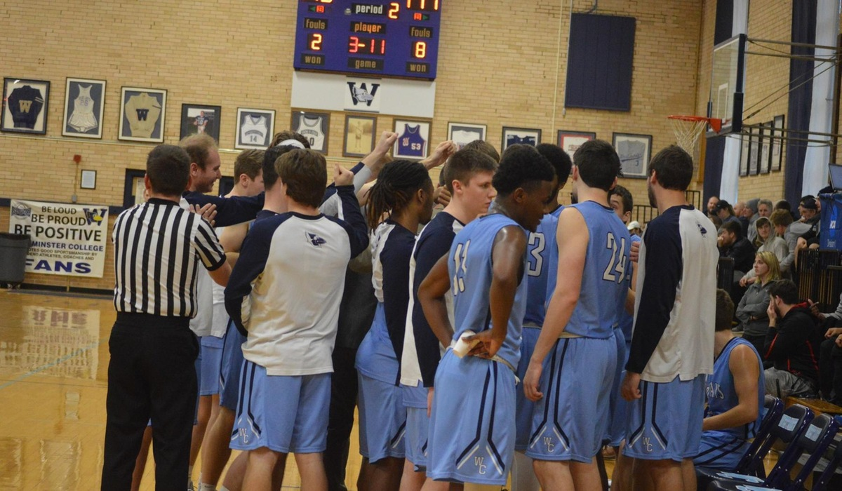 Westminster Men's Basketball Ends Season in Heartbreaking Loss at MacMurray