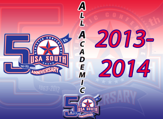USA South Announces 2014 All-Academic Honorees