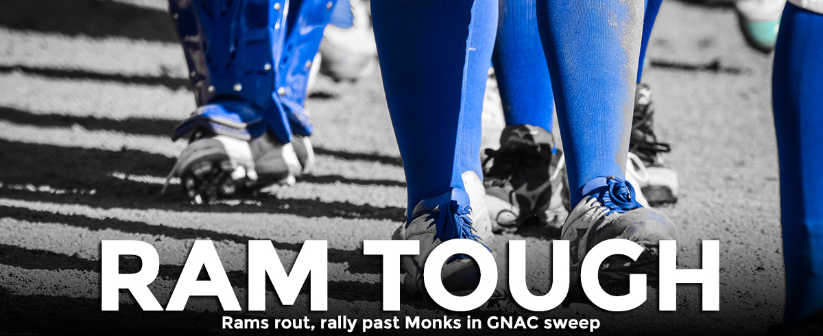 Rams Sweep Monks in GNAC Action, 17-2 & 11-6