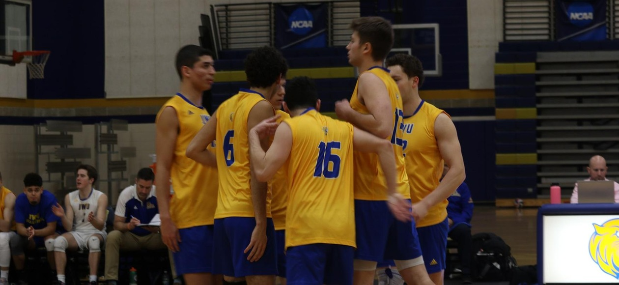 Men's Volleyball Blanks Emerson 3-0