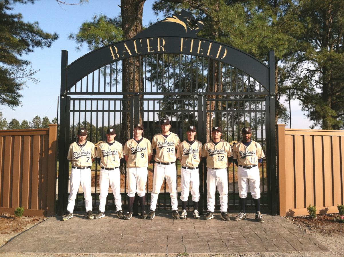 Guzzo Gateway at Bauer Field, featuring the 2012 Senior Class