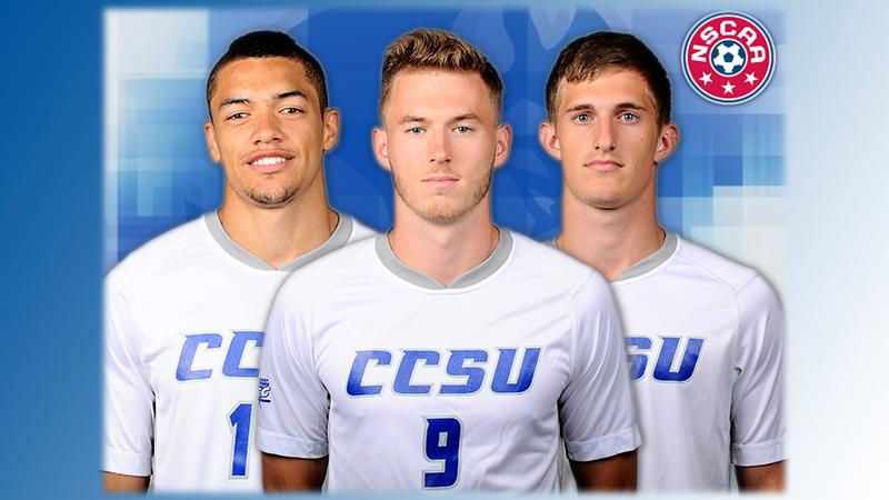 Trio Earns NSCAA All-North Atlantic