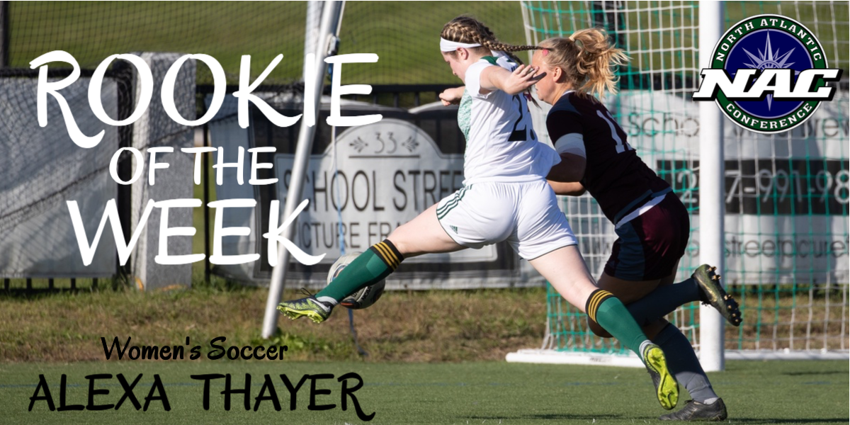Thayer Earns First NAC Weekly Accolade for Husson Women's Soccer