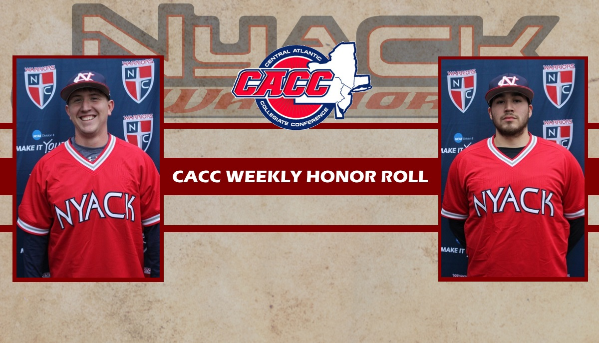 Kahl and Celaya Named to Weekly CACC Honor Roll