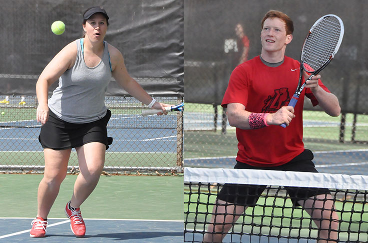 Tennis: Men's and women's teams hand out annual team awards
