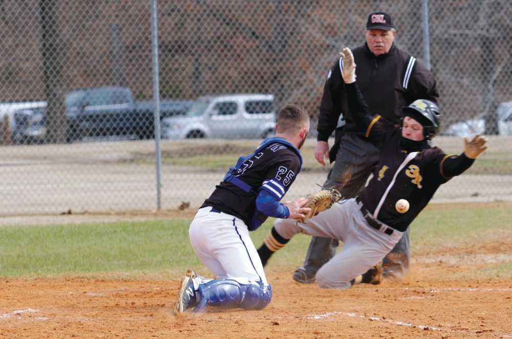 Tony Rudd gets 1st lifetime home run as Three Rivers baseball rallies