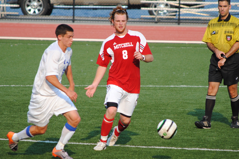 Men's Soccer Eliminated at Lesley