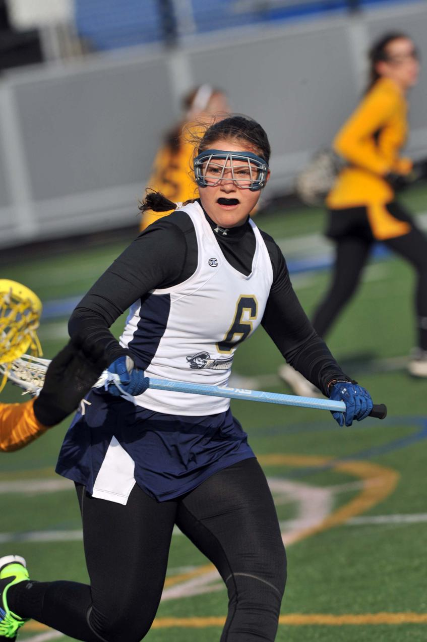 Solari Nets Pair Of Goals, Breault Makes 10 Saves As Women's Lacrosse Drops 7-5 MASCAC Decision At Framingham State