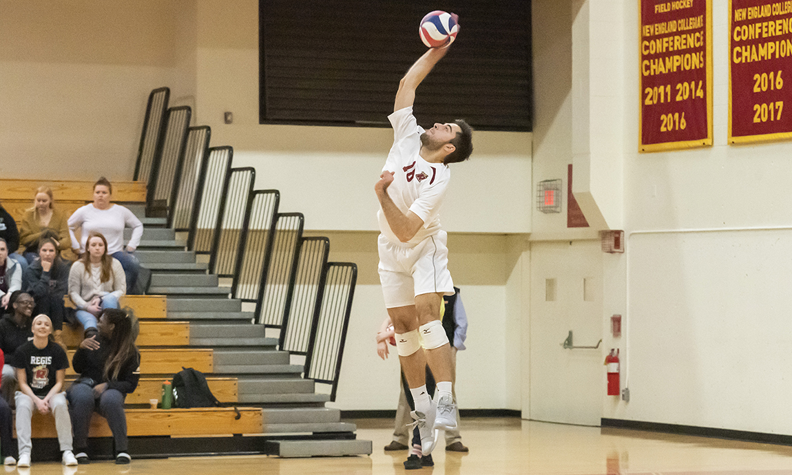 Regis Men's Volleyball Loses GNAC Opener