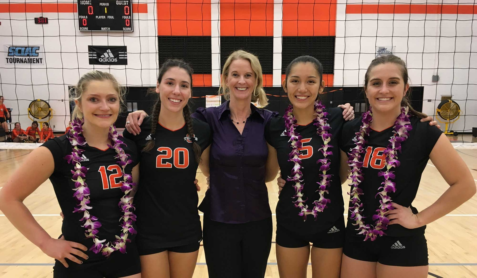 Oxy Sweeps Caltech on Senior Day