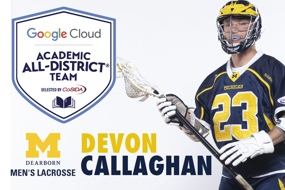 Callaghan named to CoSIDA Academic All-District Team