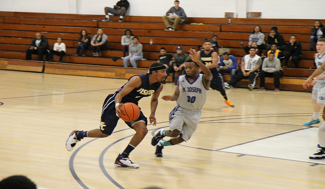 Men's Hoops Falls 100-72 in Non-League Play